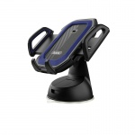 Hoco Platinum Infrared Auto-induction in-Car Phone Holder (Black-Blue)