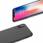 Mcdodo iPhone X / XS Travel Starting Hard Case (PC) Black