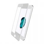Mcdodo iPhone 7 Plus / 8 Plus 3D Soft Edge Full Cover Glass Anti-Blue White
