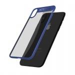Mcdodo iPhone X / XS Dual Clear Bumper Case (PC + TPU) Transparent-Blue
