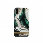 Green Marble Phone Case Cover for Apple iPhone X / XS
