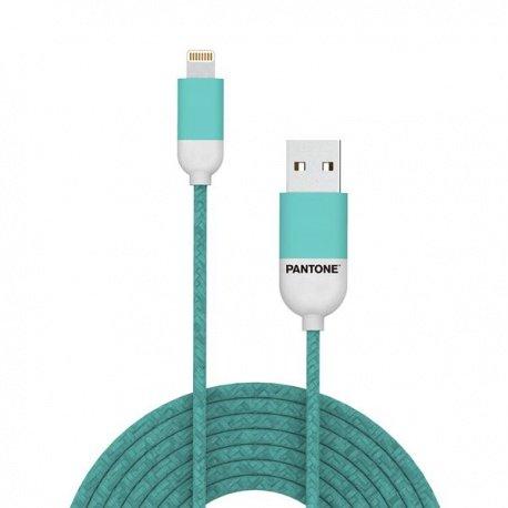 Pantone Lightning kabel 1,5m světle modrý