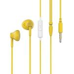 Pantone Stereo Earphones Yellow