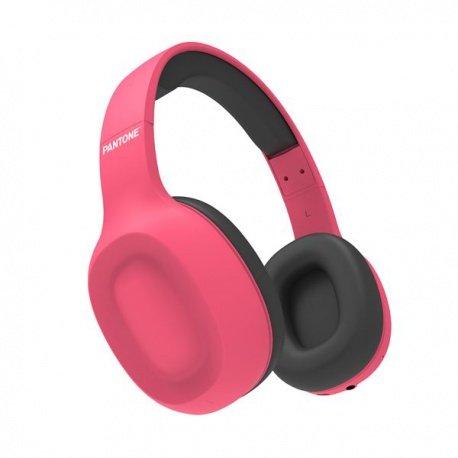 Pantone BTH bezdrátová sluchátka růžová