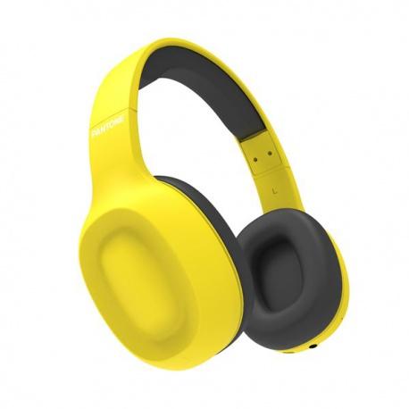 Pantone BTH bezdrátová sluchátka žlutá