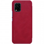 Nillkin Qin Leather Case Xiaomi Mi 10 Youth / Mi 10 Youth 5G / Mi 10 Lite 5G Red