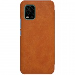 Nillkin Qin Leather Case Xiaomi Mi 10 Youth / Mi 10 Youth 5G / Mi 10 Lite 5G Brown