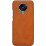 Nillkin Qin Leather Case Xiaomi Redmi K30 Pro / Xiaomi Poco F2 Pro Brown