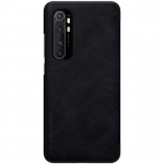 Nillkin Qin Leather Case Xiaomi Mi Note 10 Lite Black