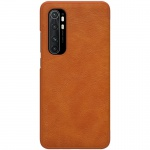 Nillkin Qin Leather Case Xiaomi Mi Note 10 Lite Brown