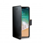 Celly Wally Flip Case for Apple iPhone X / XS Black