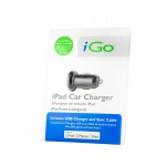 iGo Car Charger with MFi 30-pin Cable Black
