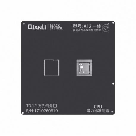 Qianli Black Stencil A12 CPU for IP XS / XS Max / XR