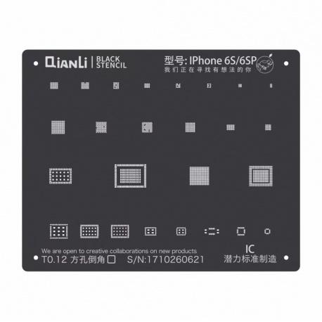 Qianli Black Stencil IC 6S / 6S Plus