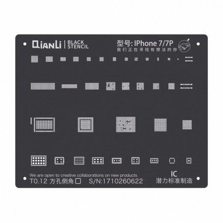 Qianli Black Stencil IC 7 / 7P Plus