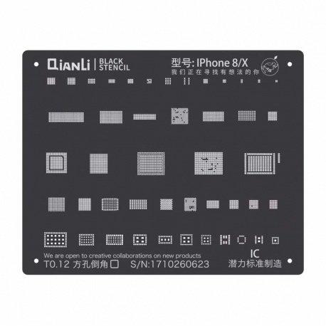 Qianli Black Stencil IC 8 / X