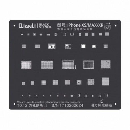 Qianli Black Stencil IC XS / XS Max / XR