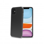 Celly TPU Case for iPhone 11 Transparent Black