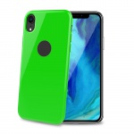 Celly TPU Case for iPhone XR Lime Green