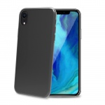 Celly TPU Case for iPhone XR Transparent Black