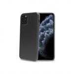 Celly TPU Case for iPhone 11 Pro Transparent Black
