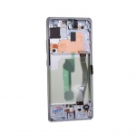 Samsung Galaxy S10 Lite G770F LCD + Touch + Frame Prism White (Service Pack)