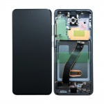 Samsung Galaxy S20 G980 LCD + Touch + Frame Cosmic Gray (Service Pack)
