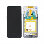 Samsung Galaxy A80 A805F LCD + Touch + Frame Silver (Service Pack)