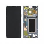 Samsung Galaxy S9 Plus G965 LCD + Touch + Frame Grey (Service Pack)