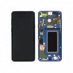 Samsung Galaxy S9 Plus G965 LCD + Touch + Frame Blue (Service Pack)
