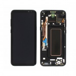 Samsung Galaxy S8 Plus G955 LCD + Touch + Frame Black (Service Pack)