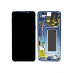 Samsung Galaxy S9 G960 LCD + Touch + Frame Polaris Blue (Ice Blue) (Service Pack)