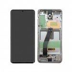 Samsung Galaxy S20 G980 LCD + Touch + Frame White (Service Pack)