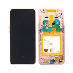 Samsung Galaxy A80 A805F LCD + Touch + Frame Gold (Service Pack)