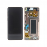 Samsung Galaxy S9 G960 LCD + Touch + Frame Gold (Service Pack)