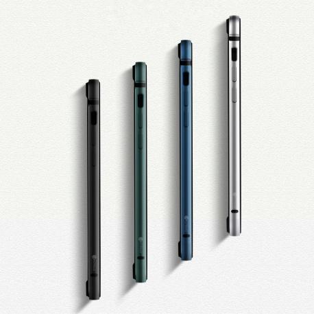 Coteetci Aluminium Bumper for iPhone 12 Pro Max 6.7 Blue