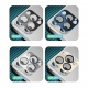Coteetci Aluminium Camera Glass for iPhone 12 Pro Max 6.7 Silver