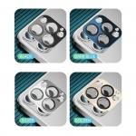 Coteetci Aluminium Camera Glass for iPhone 12 Pro Max 6.7 Blue