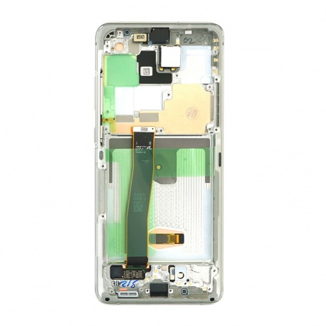 Samsung Galaxy S20 Ultra G988 LCD + Touch + Frame Cloud White (Service Pack)