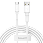 Baseus Mini White Cable USB for Type-C 3A 1M White