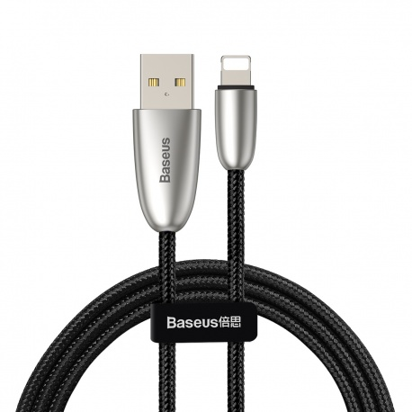 Baseus Torch Series Data Cable USB for iPhone 2.4A 1M Black