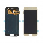 Samsung Galaxy A3 2017 A320 LCD + Touch Gold (Service Pack)