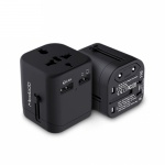Mcdodo Universal Travel Charger with Dual USB Ports (5V, 2.4A) Black