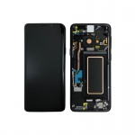 Samsung Galaxy S9 Plus G965 LCD + Touch + Frame Black (Service Pack)