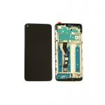 Motorola G9 Plus LCD + Touch + Frame Black (Service Pack)