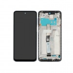 Xiaomi Redmi Note 9 Pro LCD + Touch + Frame - Interstellar Grey (Service Pack)