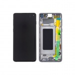 Samsung Galaxy S10 G973 LCD + Touch + Frame Prism Black (Service Pack)