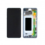 Samsung Galaxy S10 G973 LCD + Touch + Frame Prism Blue (Service Pack)