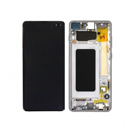 Samsung Galaxy S10+ G975 LCD + Touch + Frame Prism Black (Service Pack)