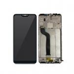 Xiaomi Mi A2 Lite LCD + Touch + Frame (Assembled) - Black (OEM)
